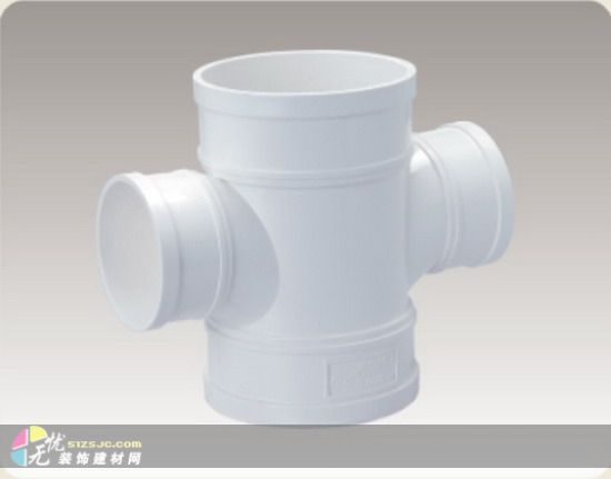 pvc-u排水管件塑料异径斜三通-管件